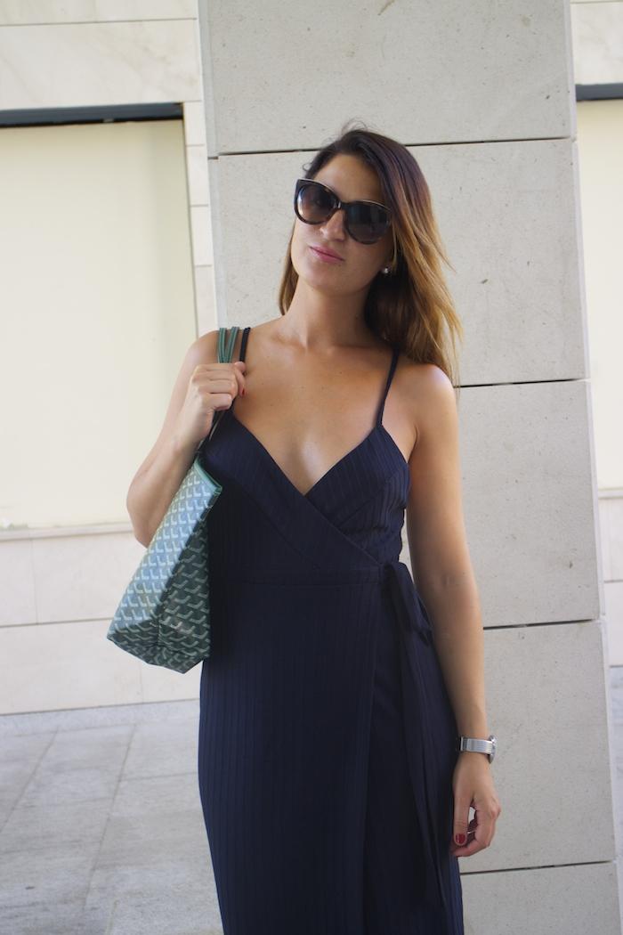 zara dress henry london embassador watch paula fraile bag goyard4