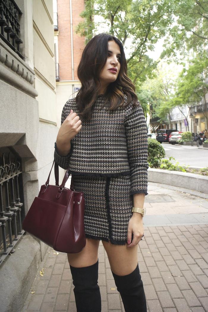 zara-top-and-skirt-over-the-knee-boots-justfab-la-redoute-bag-and-trench-amaras-la-moda-paula-fraile5