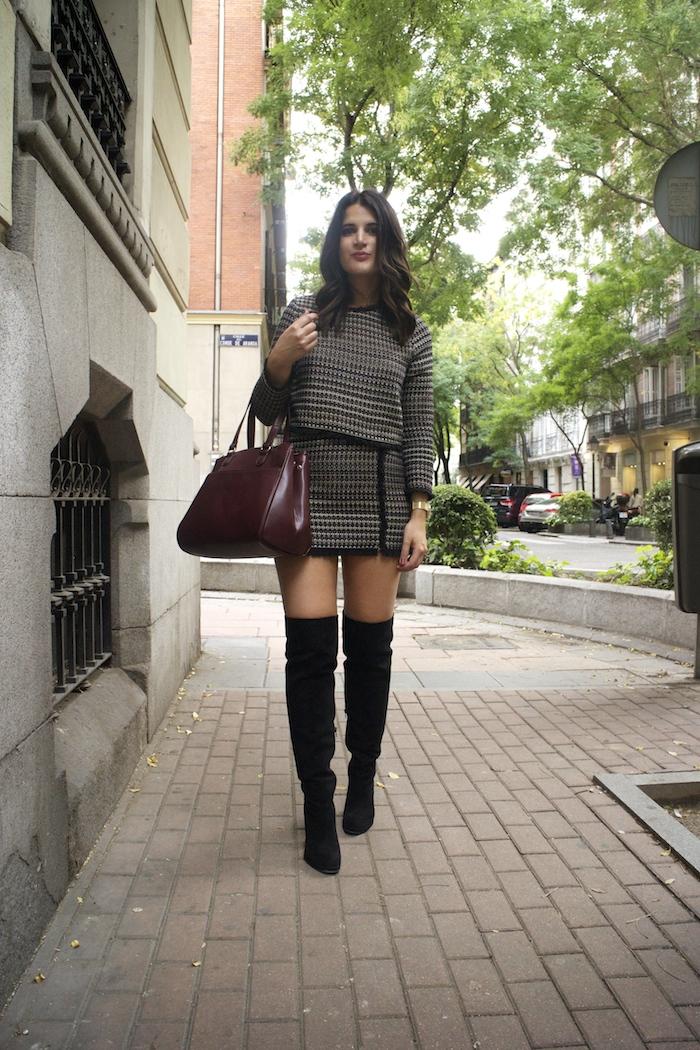 zara-top-and-skirt-over-the-knee-boots-justfab-la-redoute-bag-and-trench-amaras-la-moda-paula-fraile6