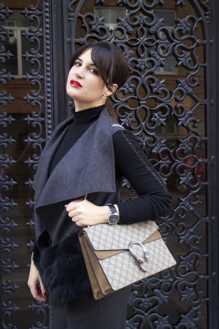 conjunto Carolina Herrera Gucci Dionysus amaras la moda paula fraile3