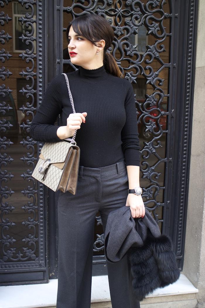 conjunto Carolina Herrera Gucci Dionysus amaras la moda paula fraile5