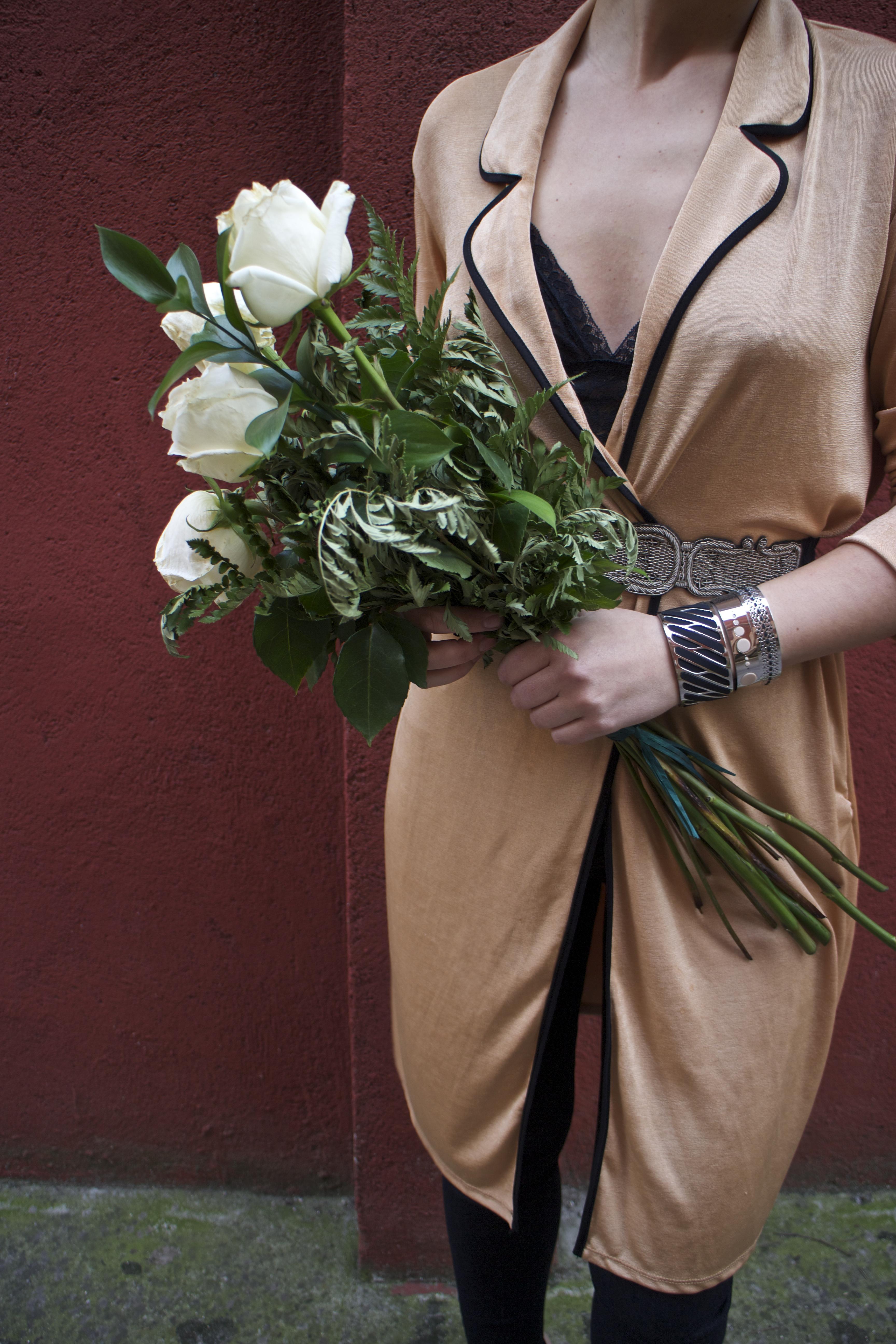 embajadora The Rubz pulseras bata Zara Paula Fraile amaras la moda flores