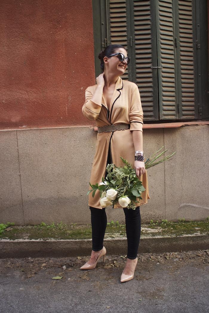 embajadora The Rubz pulseras bata Zara Paula Fraile amaras la moda flores10