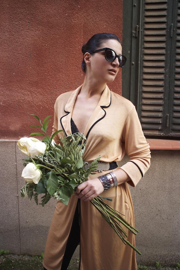 embajadora The Rubz pulseras bata Zara Paula Fraile amaras la moda flores7