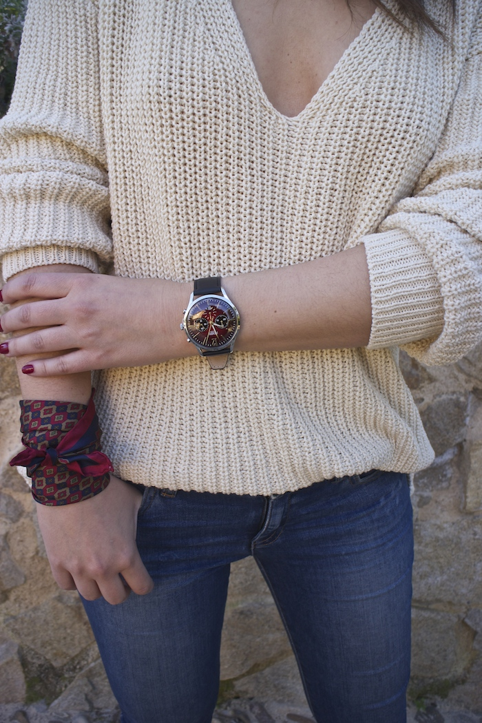 embajadora henry london amaras la moda jeans jersey zara reloj.3