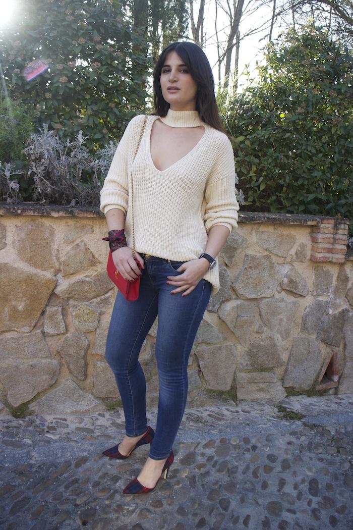 embajadora henry london amaras la moda jeans jersey zara reloj.6