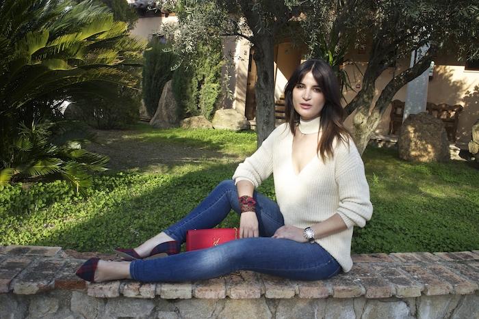 embajadora henry london amaras la moda jeans jersey zara reloj.8