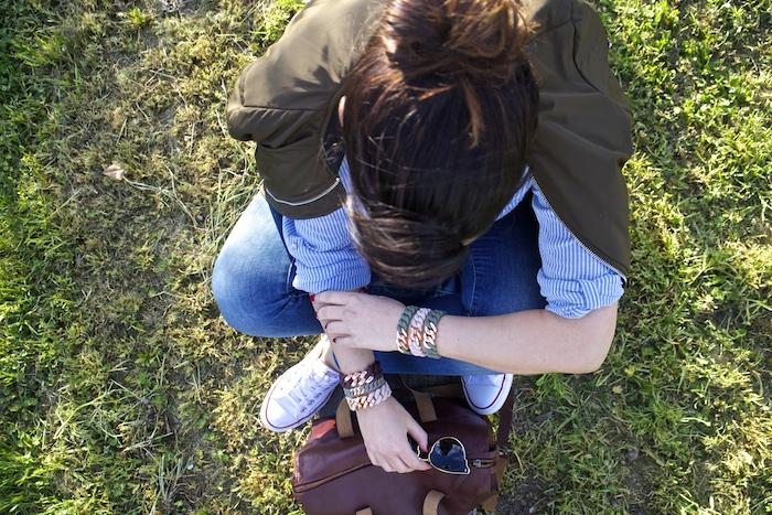 casual day pulseras the rubz amaras la moda paula fraile7