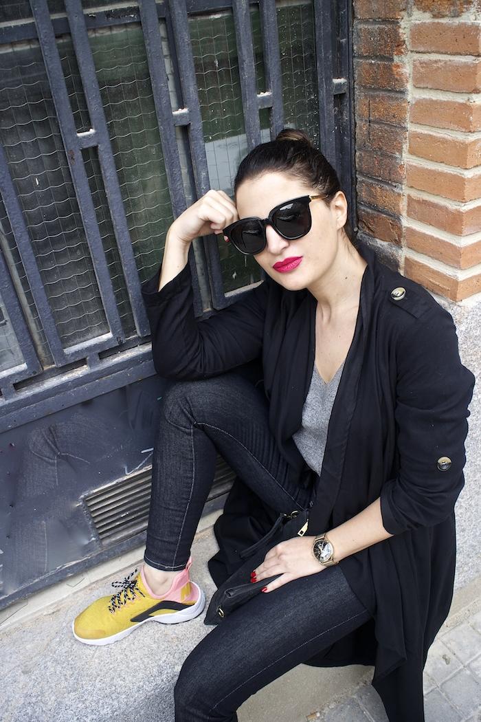 huarache nike ediciñon limitada levis jeans monglam sunnies amaras la moda paula fraile