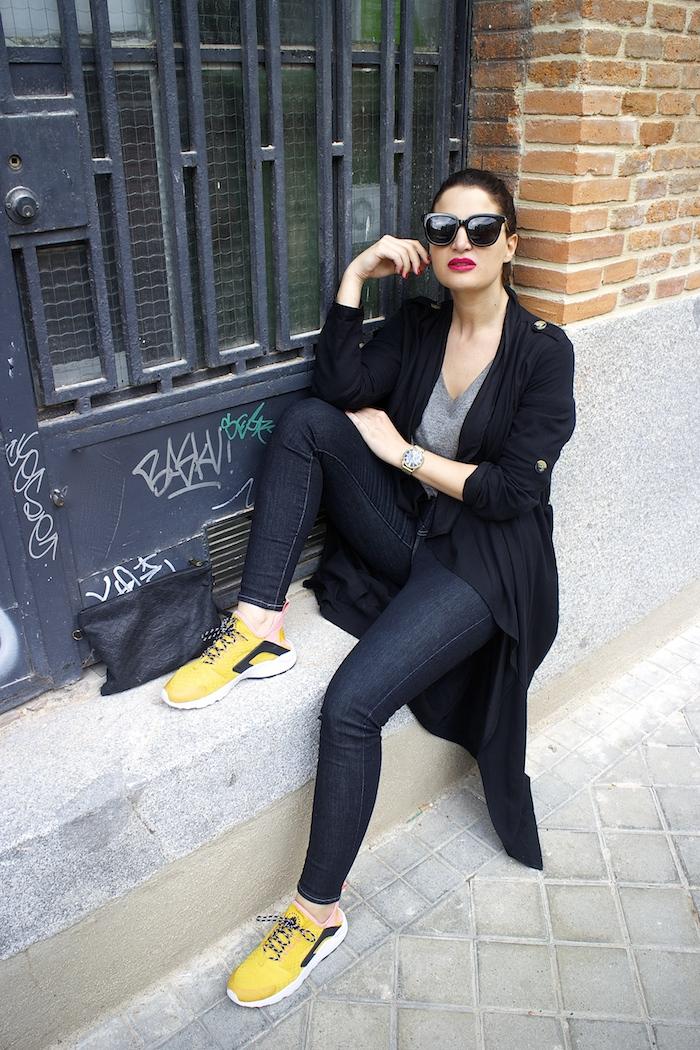 huarache nike ediciñon limitada levis jeans monglam sunnies amaras la moda paula fraile8