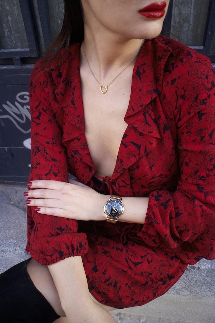 vestido Zara reloj henry london amaras la moda gafas monglam amaras la moda paula fraile8
