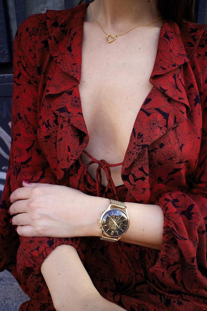 vestido Zara reloj henry london amaras la moda gafas monglam amaras la moda paula fraile9