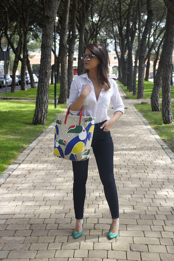 sunper sunglasses amaras la moda paula fraile Carolina Herrera bag8