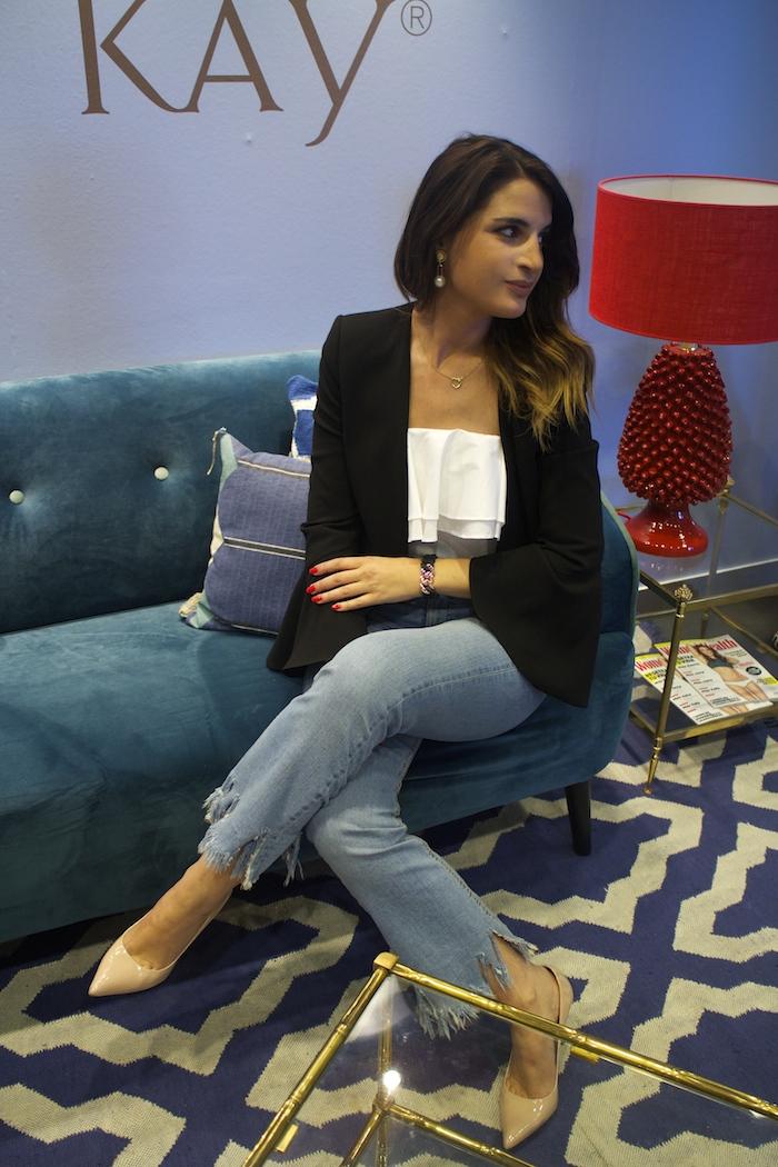 embajadora the rubz pulseras Paula Fraile amaras la moda open de madrid.2