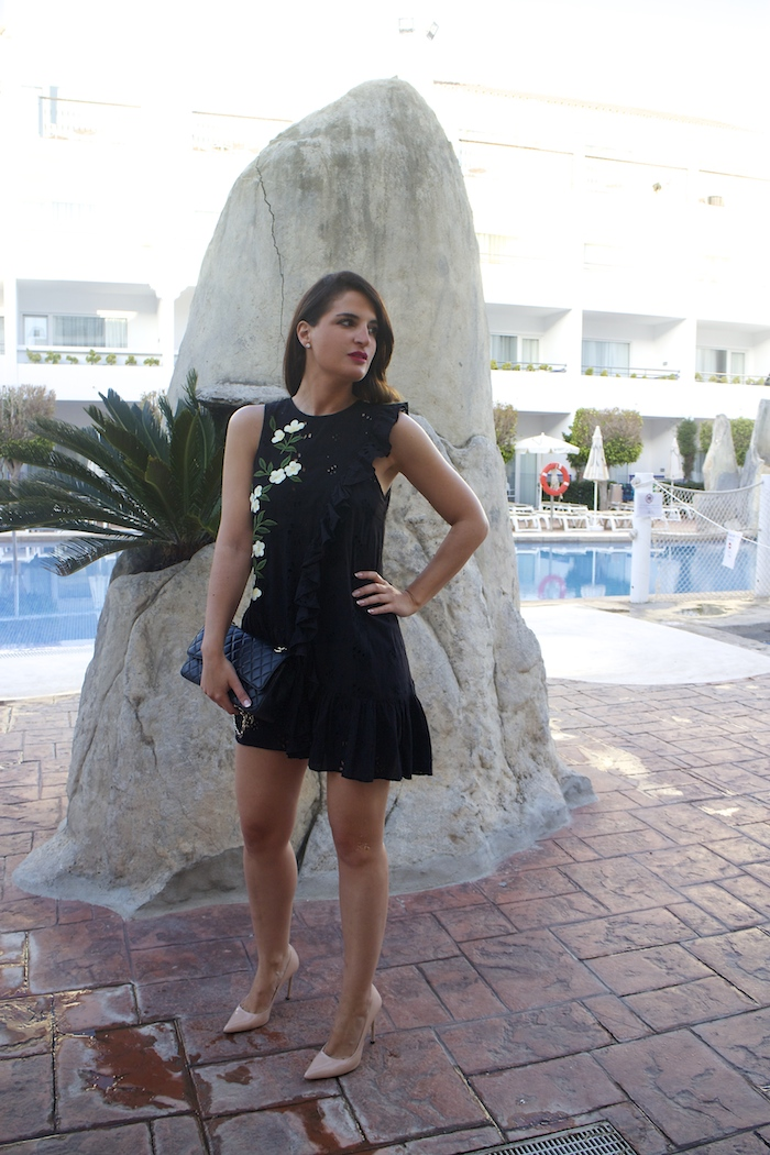 iberostar costa del sol amaras la moda vestido zara paula fraile10