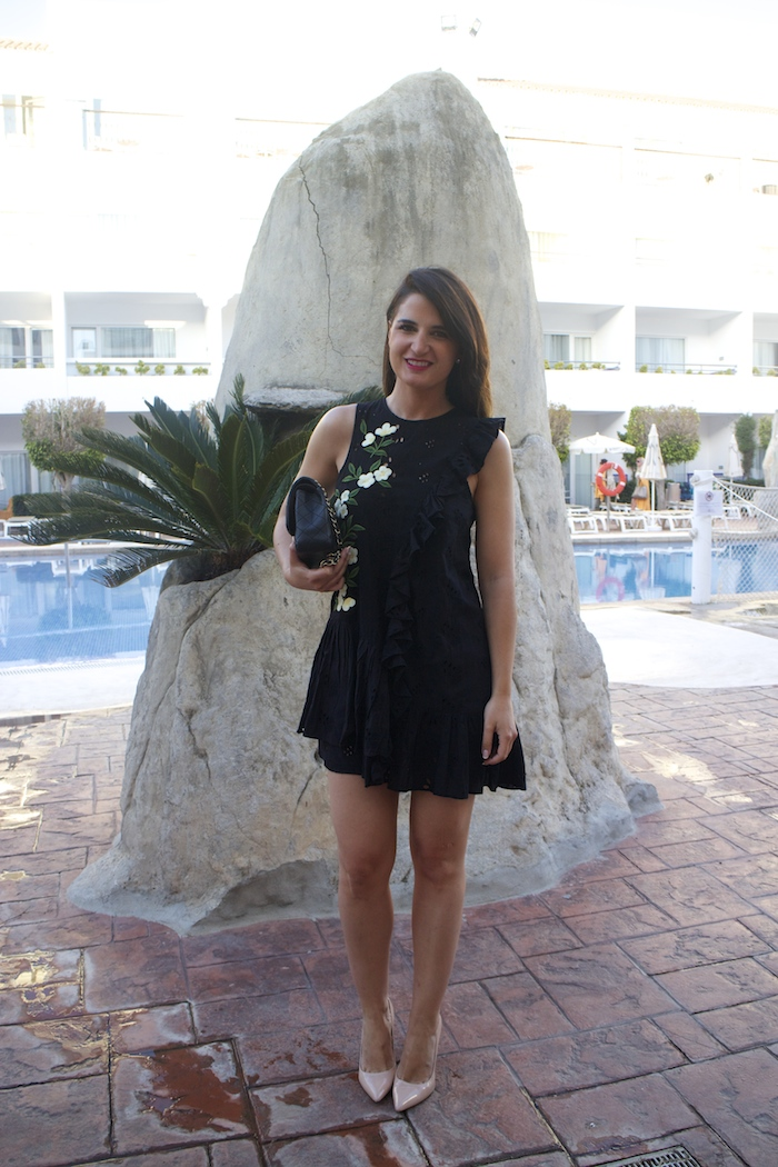 iberostar costa del sol amaras la moda vestido zara paula fraile11