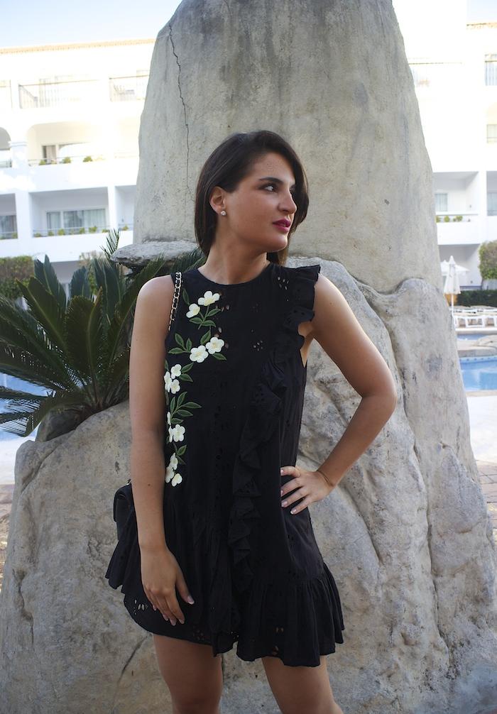 iberostar costa del sol amaras la moda vestido zara paula fraile5