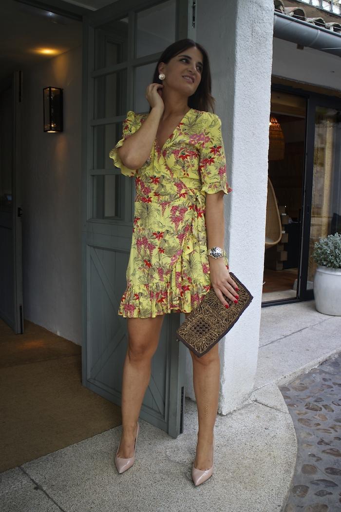 vestido zara embajadora Henry London amaras la moda paula fraile