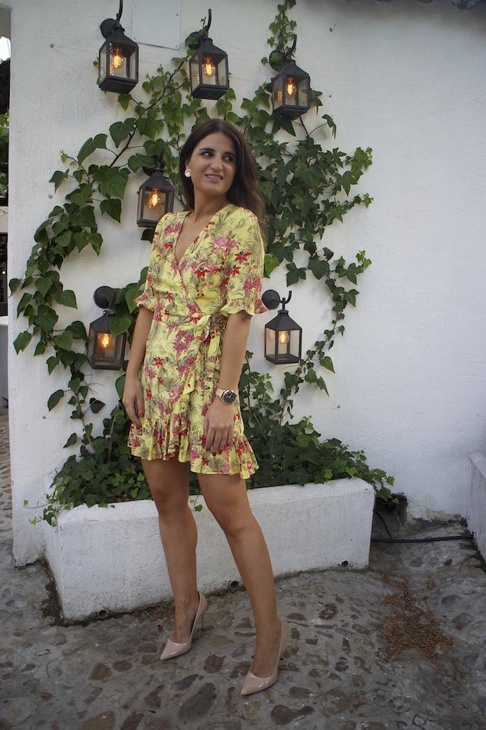 vestido zara embajadora Henry London amaras la moda paula fraile6