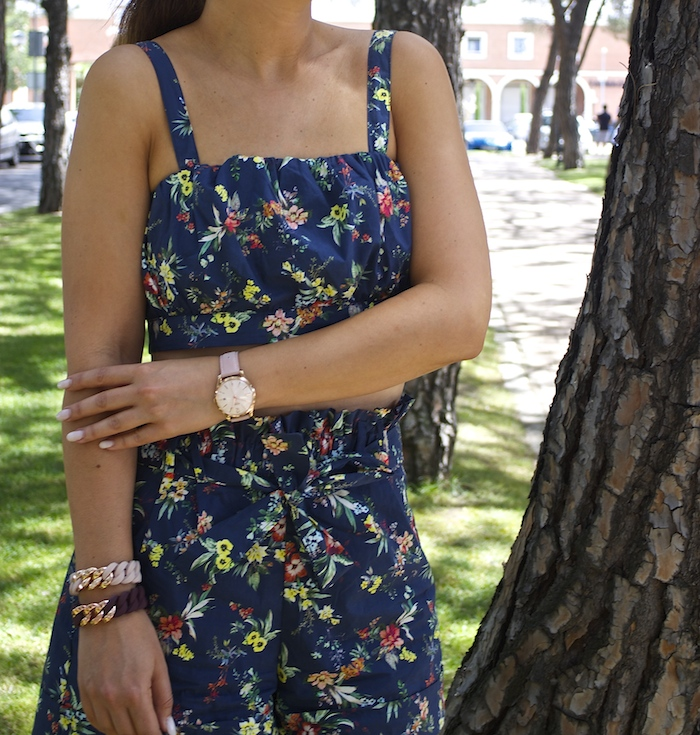 conjunto flores bershka embajadora henry london the rubz