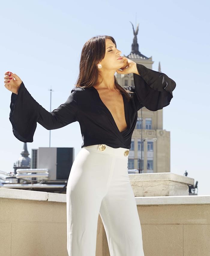 conjunto Zara iberostar Las letras amaras la moda Paula Fraile7