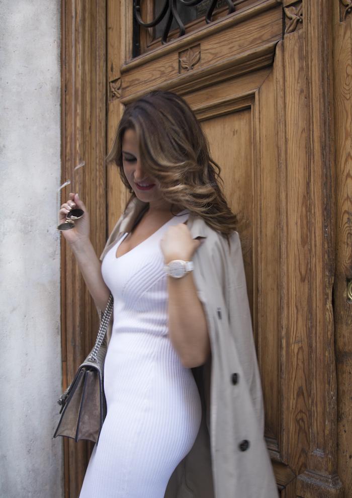 vestido Michael Kors bolso gucci trench La redoutte amaras la moda Paula Fraile