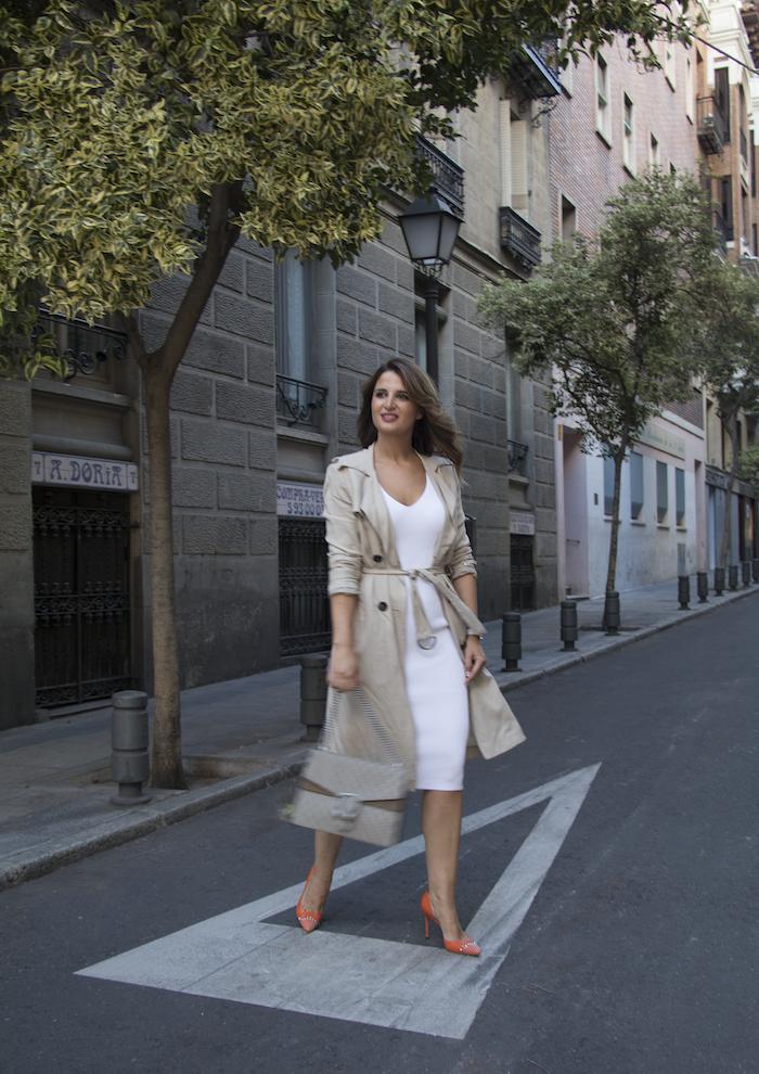vestido Michael Kors bolso gucci trench La redoutte amaras la moda Paula Fraile11