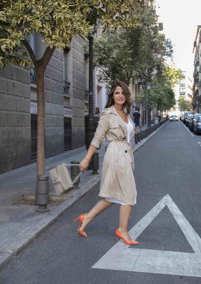 vestido Michael Kors bolso gucci trench La redoutte amaras la moda Paula Fraile12