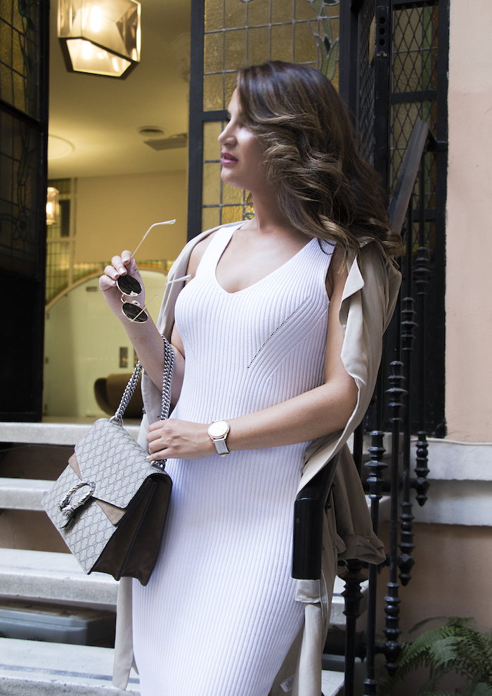 vestido Michael Kors bolso gucci trench La redoutte amaras la moda Paula Fraile13