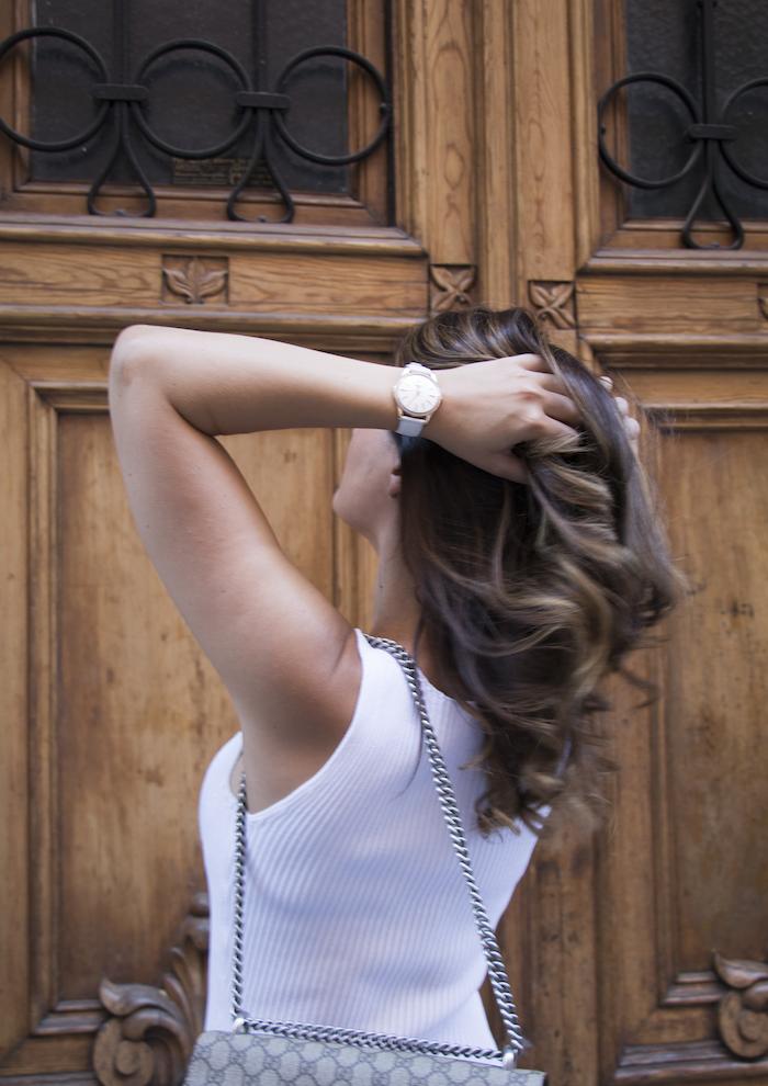 vestido Michael Kors bolso gucci trench La redoutte amaras la moda Paula Fraile3