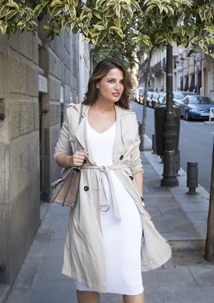 vestido Michael Kors bolso gucci trench La redoutte amaras la moda Paula Fraile6