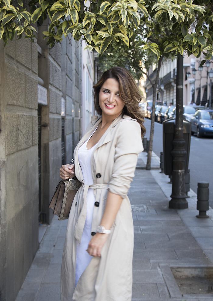 vestido Michael Kors bolso gucci trench La redoutte amaras la moda Paula Fraile7