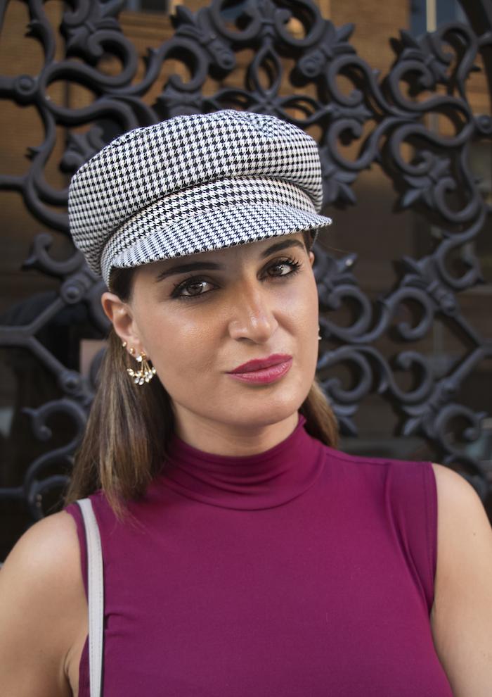 vestido gorra zara bolso michael kors pendientes acus complementos amaras la moda paula fraile8